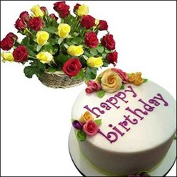 Birthday Wishes Images With Cake And Flowers : Cake N Flowers - 4 Someone Special Cake N Flowers Service ...