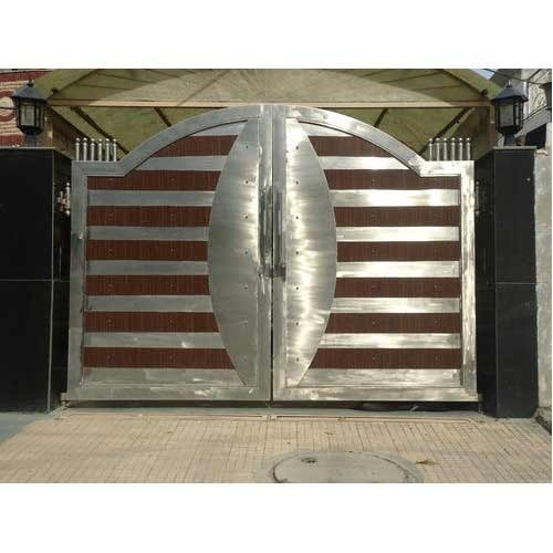 . Stainless Steel Main Gates Manufacturer from Faridabad
