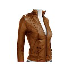 Brown Women Leather Jackets