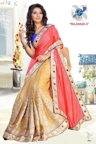 Mirror Borders and Sarees