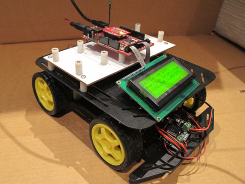 Robotics projects based on arduino uno atmega