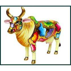 Hand Painted Cow