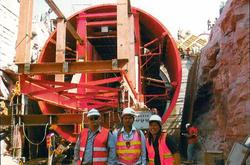 Travelling Tunnel Formwork