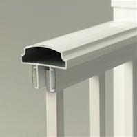 Aluminum hand rails