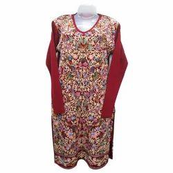 Embroidered+Woolen+Kurti