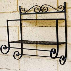 rot iron furniture. garden pot stand rot iron furniture
