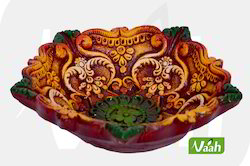 Vaah Terracotta Decorative T-Lite Candle Holders