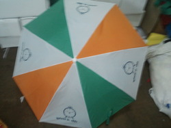Multi Coloured Automatic Umbrella