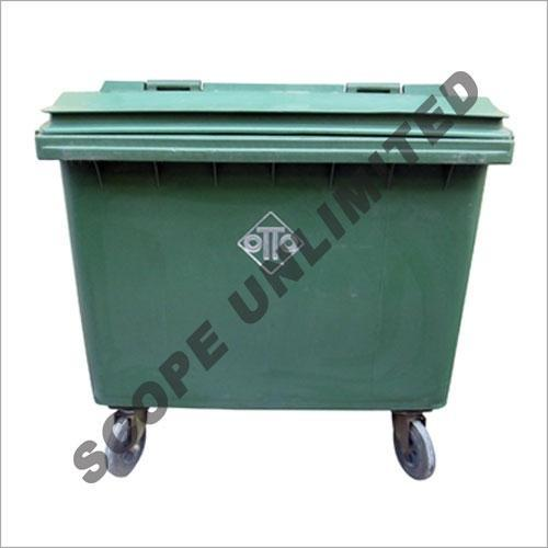 Waste Bin With Foot Paddle Hospital Segregation Trolley Manufacturer From New Delhi