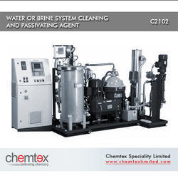 water or brine system cleaning passivating agent