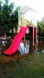 FRP Playground Slides 2 in 1
