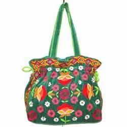 Embroidered Velvet Designer Bags
