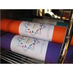 Yoga Mats Label