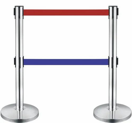 Barricade Stand Double Strip Barricade Stands