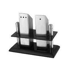 Salt & Pepper Set with Stand