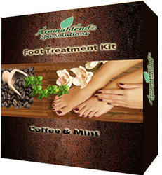 Aromablendz Coffee Mint Foot Treatment Kit