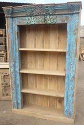 Wooden Book Self