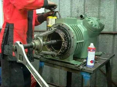 Semi Hermetic Vacuum Compressor