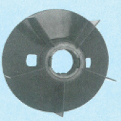 Plastic Fan Suitable for Bharat Bijlee 180 Frame Size 2 Pole