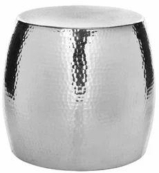 Nickel Metal Pouf