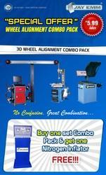 3d Wheel Alignment Combo Pack