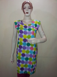 Multicoloured Printed kurtis