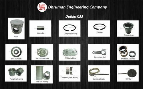 Daikin C55 Compressor Spares