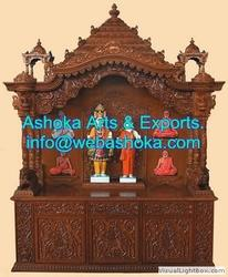Home Wooden Temple Ask For Price