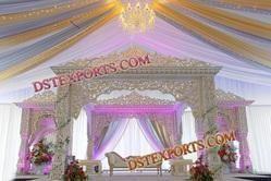 maharaja wedding stage decorations