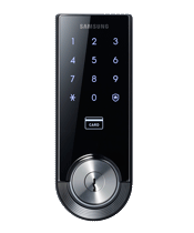 Digital Deadbolt with Mechanical Override Keys