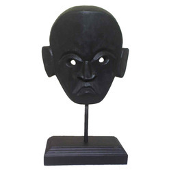 Angry Wooden Mask