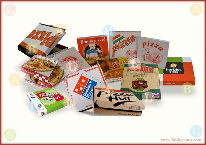 Printed Pizza Box