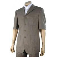Men 39 s safari suit manufacturer from chennai for Linen shirts for mens in chennai