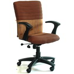 Deluxe Cloth Revolving Chairs