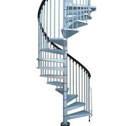 Circular Metal Stairs
