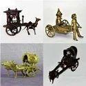 Dhokra Bell Metal Miniature Carts