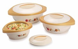 Fusion Food Warmer Set Of 3 Pcs.
