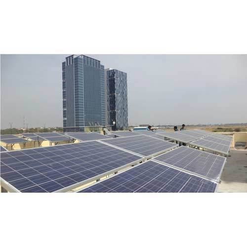 On Grid Roof Top Solar Power Plant