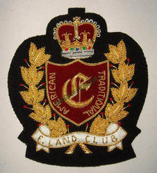 Crown Shield Blazer Badge