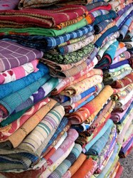 Wholesale Lots Of Handmade Kantha Rugs Throws Quilts