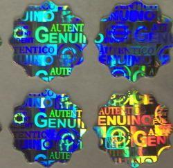 Security Hologram  Custom Shapes