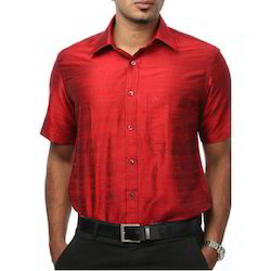 Red Shirt Silks Shirts