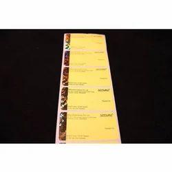 Hologram Paper Label