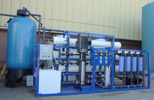 Water Treatment Plants Reverse Osmosis Plant