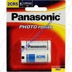 Panasonic 2cr5 6v Lithium Photo Batteries
