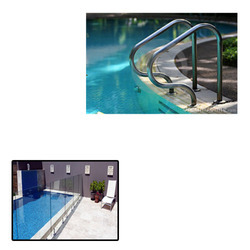 Spigot Railing for Swimming Pool