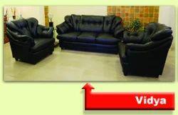 Cushioned Sofa Set