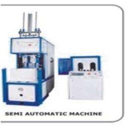 semi automatic pet blow moulding machine single cavity
