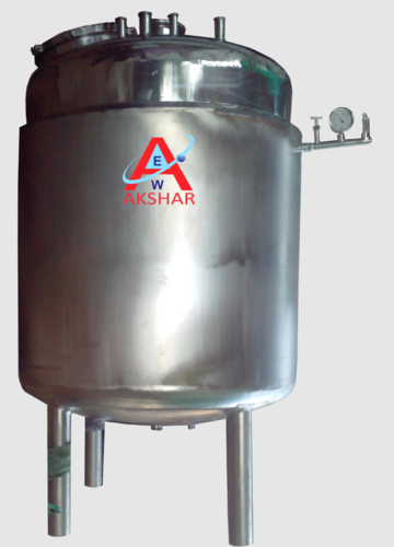 Liquid Jacketed Storage Tank