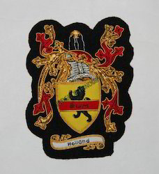 Holland(Family Crest) Small Pocket Size-Embroidered Badge